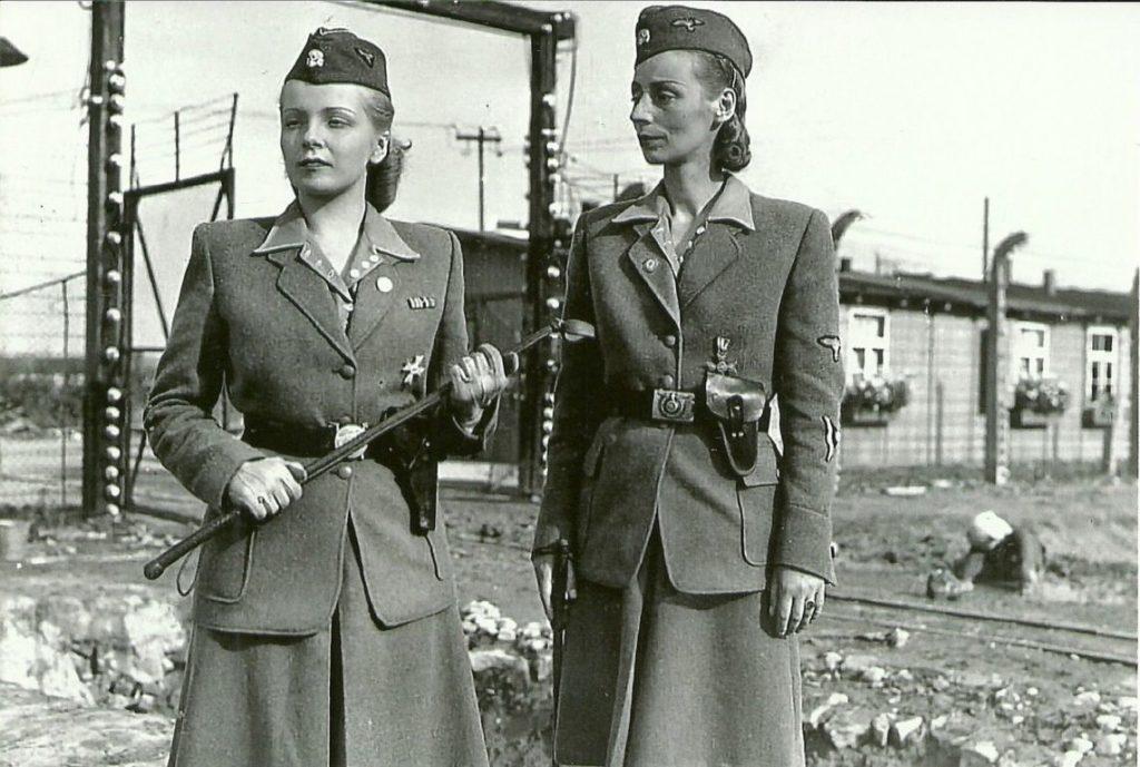 Varias de las guardianas nazis más famosas de la IIGM